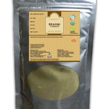 Certified Organic Brahmi Powder 200gms