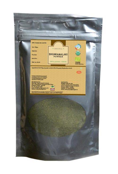 Organic Bhumiamalaki Powder