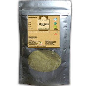 Certified Organic Gokshura Powder 200gms