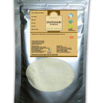 Certified Organic Shatavari Powder 200gms
