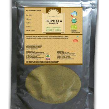 Certified Organic Triphala Powder 200gms