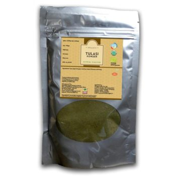 Certified Organic Tulasi Powder 200gms