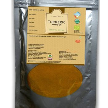Certified Organic Turmeric Powder