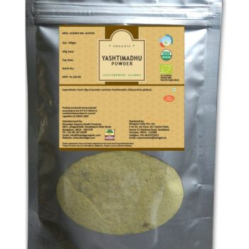 Certified Organic Yashtimadhu Powder 200gms